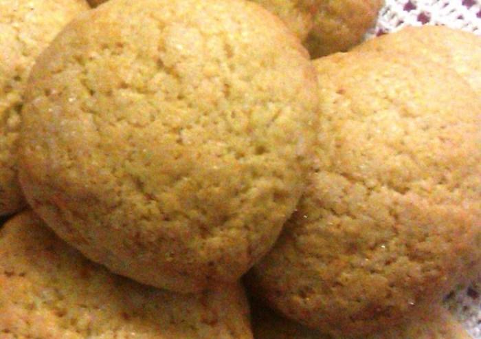 Biscotti rustici con granelli zucchero
