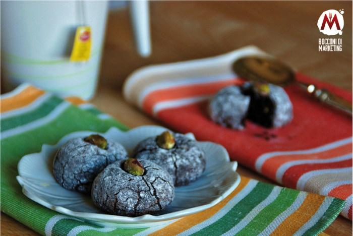 Biscotti al pistacchio e cacao