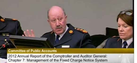 Martin Callinan Garda Commissioner Public Accounts Committee
