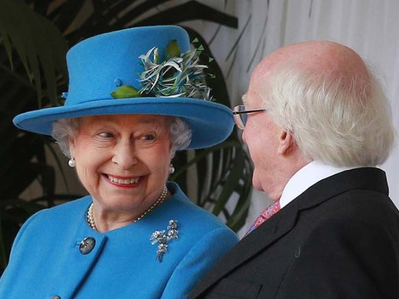 Queen Elizabeth Michael D Higgins Ireland State Visit Britain