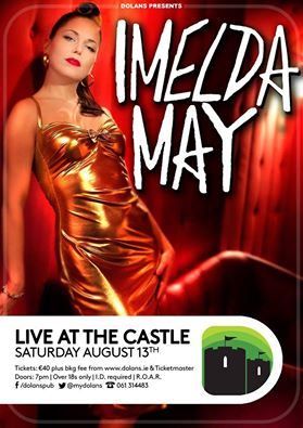 Imelda May at King John's Castle
