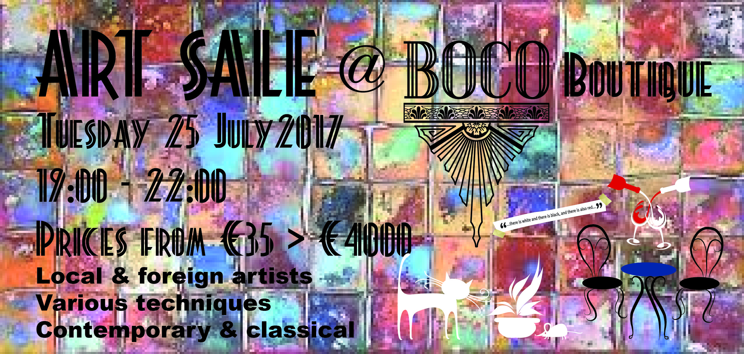 Art Sale @ BOCO Boutique