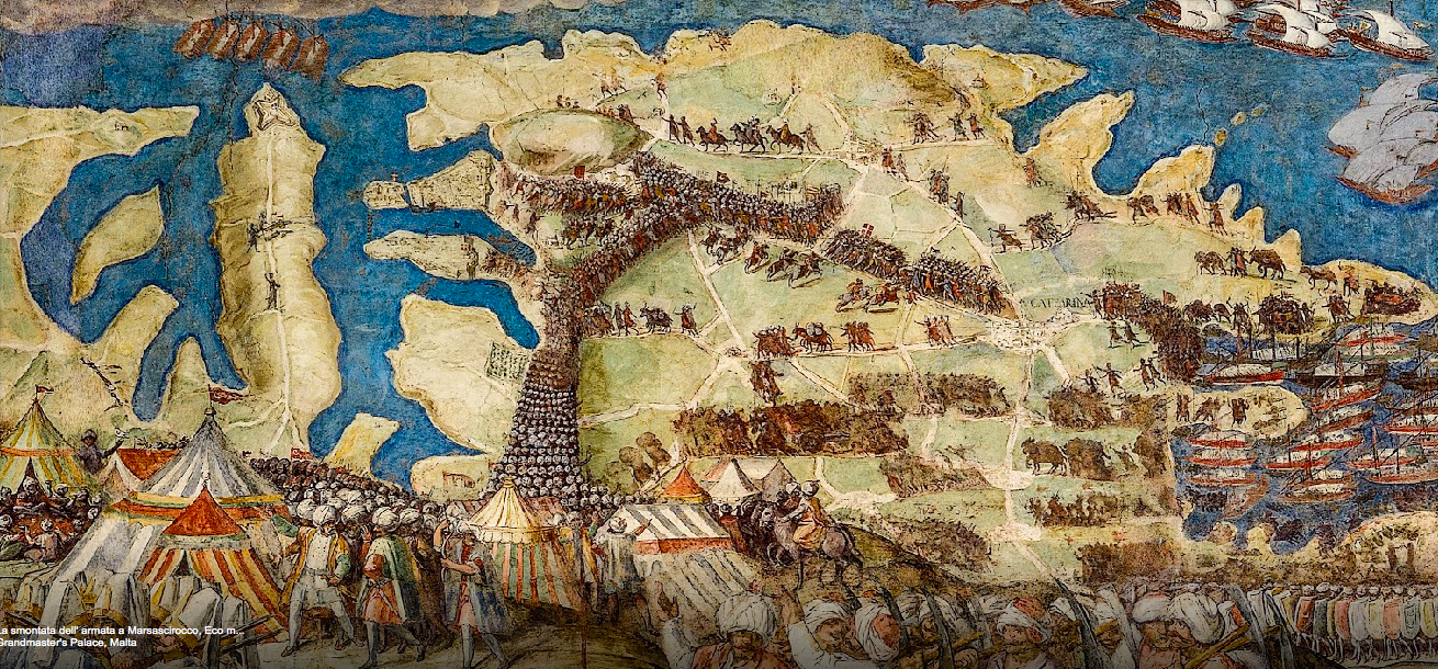 Great Siege Frescoes in online exhibition