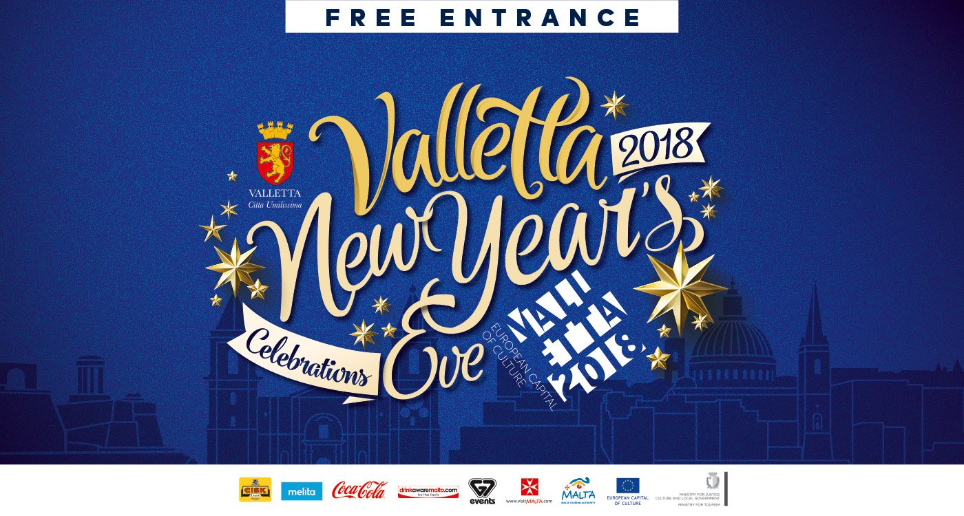 Celebrate New Year in Valletta