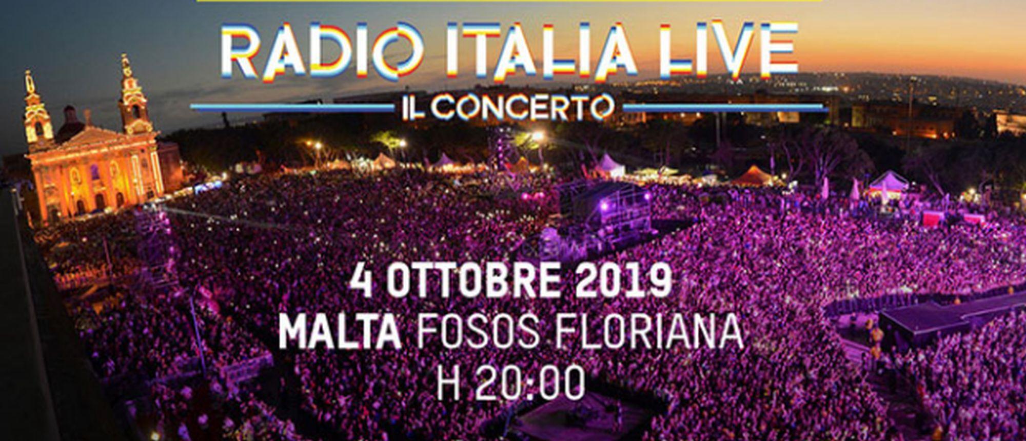 Concerto: Radio Italia Live a Malta