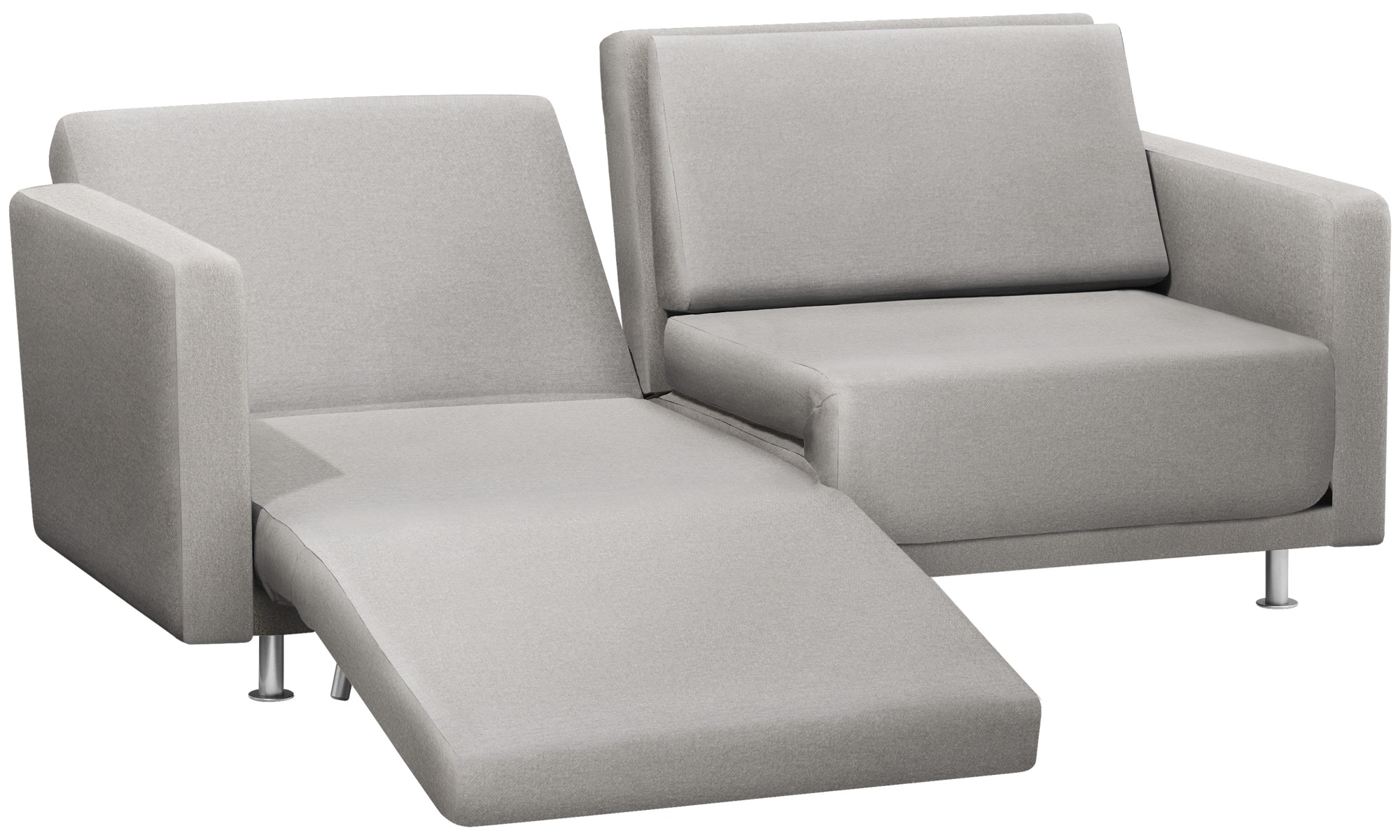 Sleep Recliner Chair Sofa Beds Melo 2 Sofa With Reclining And Sleeping Function