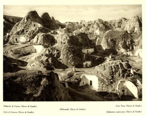 cuevas en la sierra de Guadix