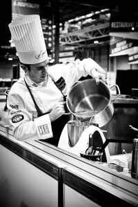 Photography by Jodi Hinds for Bocuse d'Or Team UK