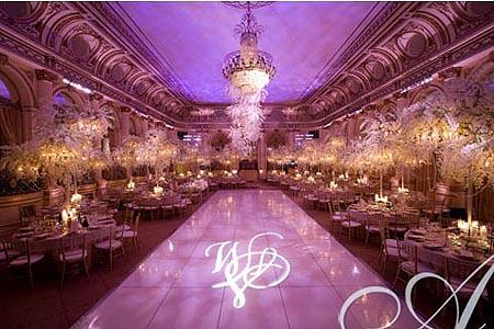 Color violeta para la decoracin de la boda  BodaEstilo la web de tu boda