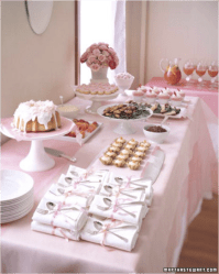 Ideas para un bridal shower