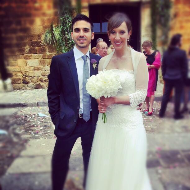 Ricky y Marina, boda en L´Empordà