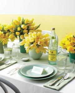 Spring lemon and mint