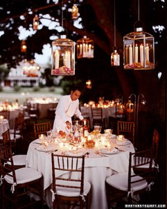 Summer hanging lanterns