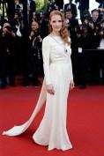 Novias Jessica Chastain in Versace