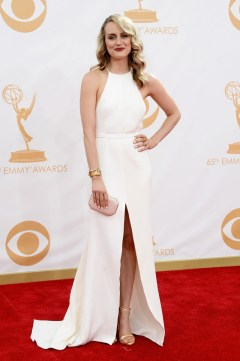 Taylor Schilling in Thakoon