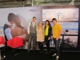 El equipo con Miguel de Gran Hotel Sol y Mar
