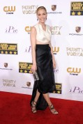 Leslie Bibb wore a House of Ronald gown