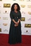 Oprah Winfrey in an Azzedine Alaïa dressç