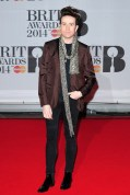 Nick Grimshaw wearing Gucci