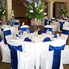 Banquet Chair Covers Cheap Dining Room Chairs Traditional Una Boda Azul Con Combinaciones De Colores Alucinantes!