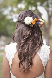 peinados para novias boho paso