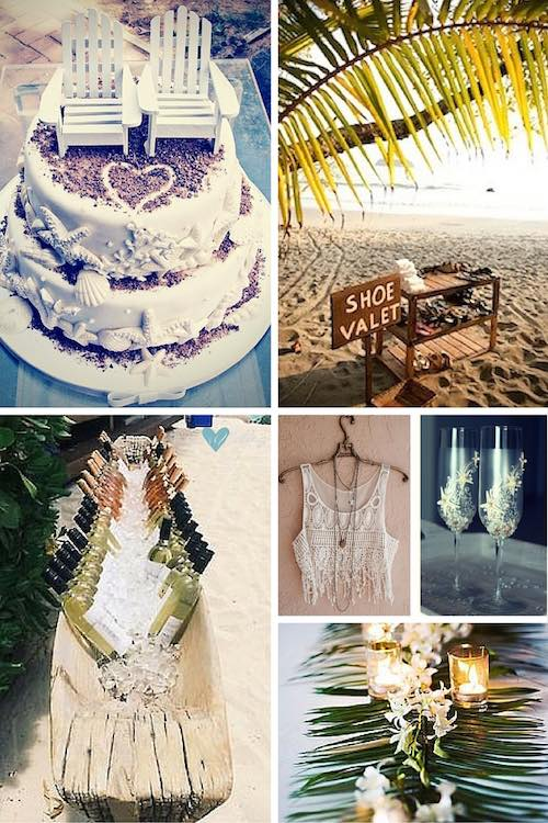 Ocean Themed Wedding