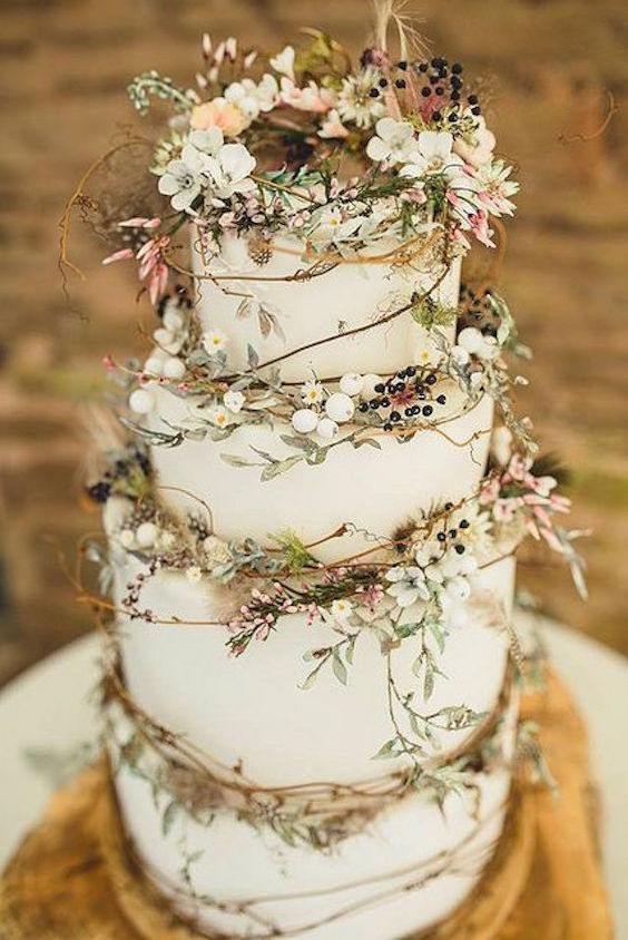 45 Classy And Elegant Wedding Cakes Graceful Inspiration Tier By Tier