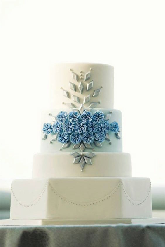 Fabulous And Elegant Wedding Cakes From Amy Beck Cake Design