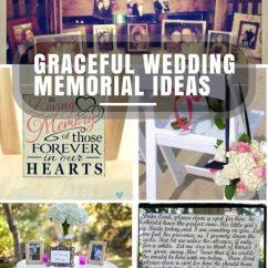 Hanging Chair Frame Swivel Desk Unique Wedding Memorial Ideas: In Loving Memory | Diys