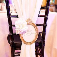 Chair Covers Ideas For Weddings Grey Patio 47 Para Decorar Y Vestir Sillas De Boda Sencillas Con Paso A