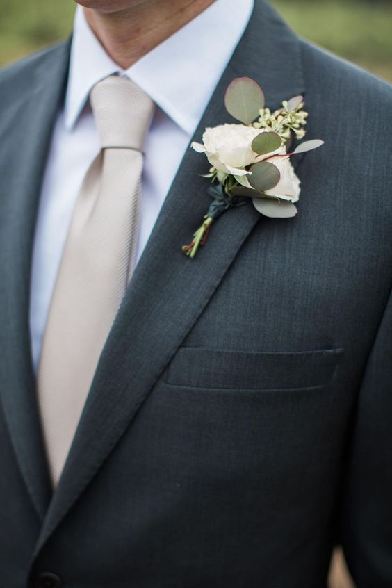 Grooms Tie How to Choose the Right Color and Style for