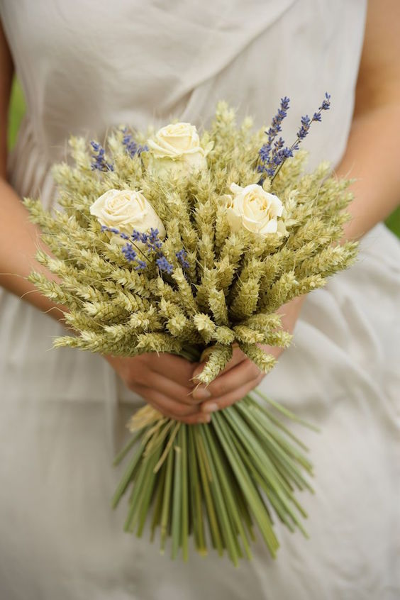 Bridal Bouquets without Flowers for NonTraditional Brides