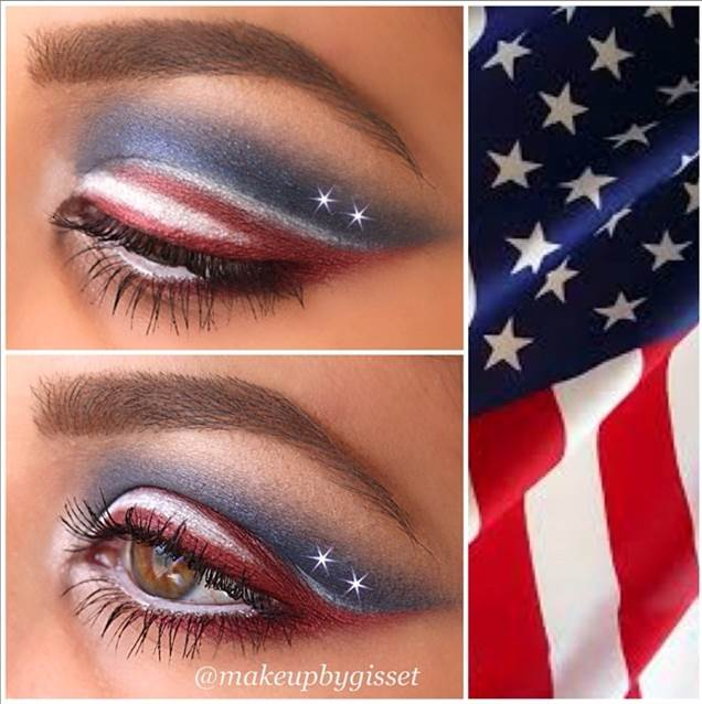 4th Of July Makeup Ideas And Tutorials Absolutely Simple