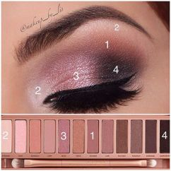 How To Apply Eyeshadow Diagram Rib Relay Wiring Maquillaje De Ojos Ahumados Con Paso A Paso, Perfecto ¡y En Minutos!