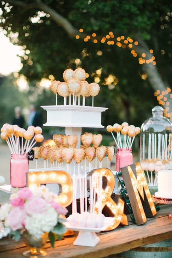 Wedding Dessert Table Ideas that will Blow your Mind Create Yours