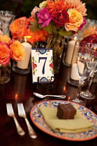 51 Unique Table Number Ideas for Wedding Receptions (and DIYs)