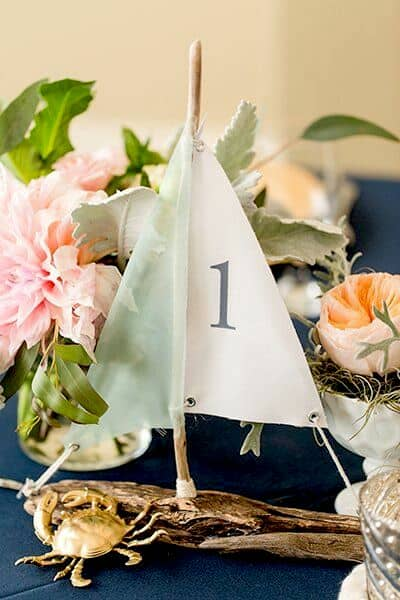 Wedding Table Number Ideas  Alternatives You Will Love