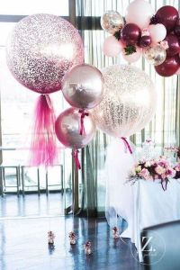 37 Stunning Balloon Decoration Ideas & DIYs for Weddings