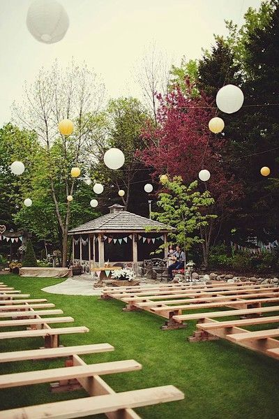 How to Plan a Backyard Wedding A Fun and Intimate Celebration