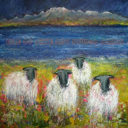 Art Cards from Marion Boddy-Evans Grazing Skye Shoes
