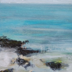 Low Tide sea painting
