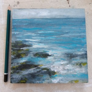 Ripples sea painting