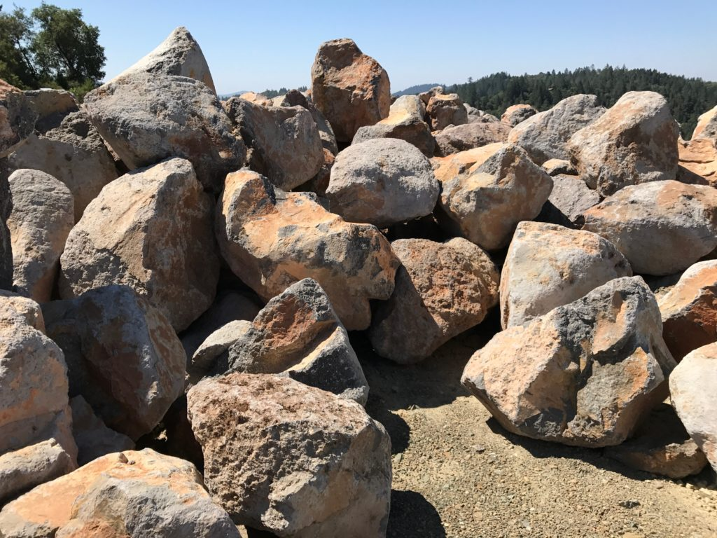 Rip Rap Shot Rock Rock Armour and Boulders  Santa Rosa CA