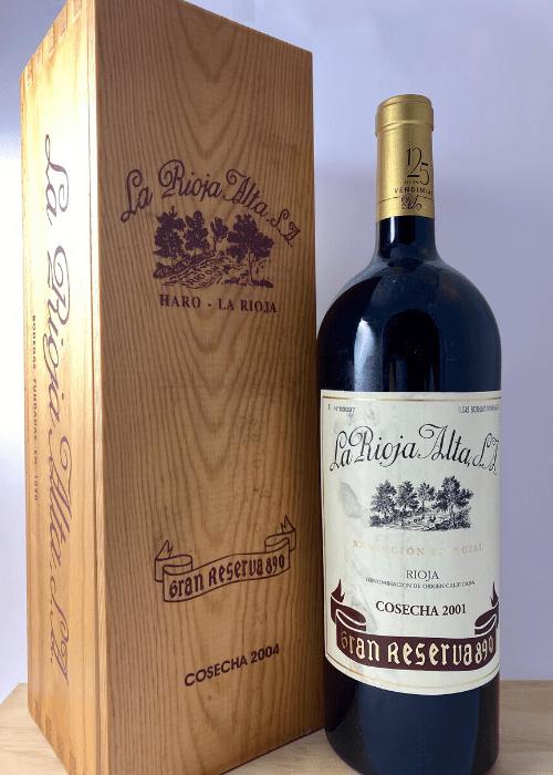 La Rioja Alta Gran Reserva 890 2001