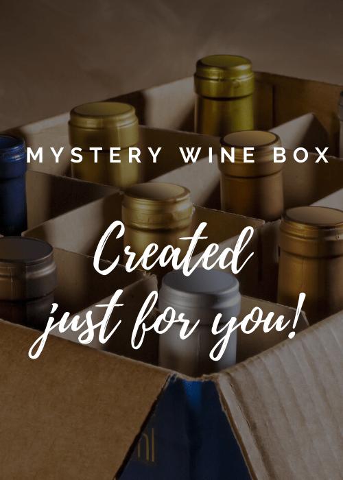 Personalised Mystery Wine Box