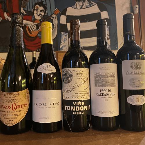 Luxury Spanish Wine Tasting at Home Box