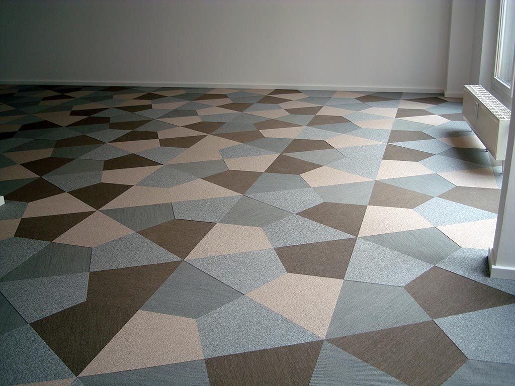Teppich Buro Strapazierfahig Moderner Kurzflorteppich Grafische