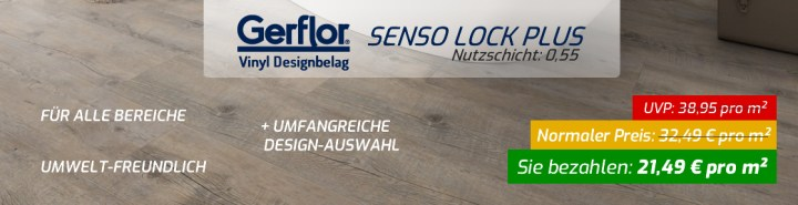 Aktion Senso Lock Plus Designbelag