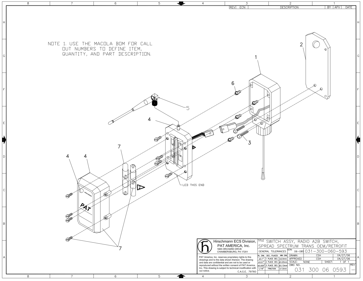 031 300 060 593 Pat B3 Anti Two Block Schematic