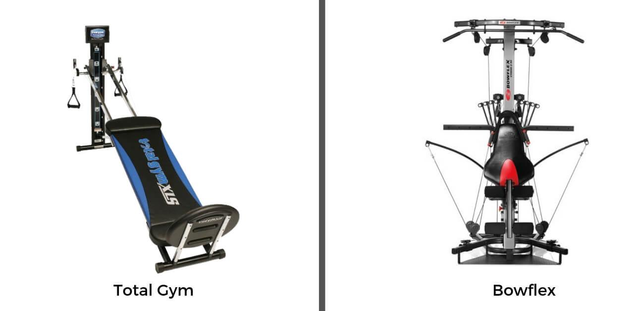 Bowflex vs Total Gym